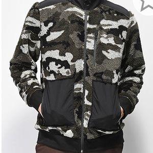 Other - NWT Camo fleece zip jacket